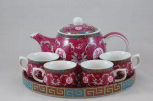 龍鳳茶具套裝 7