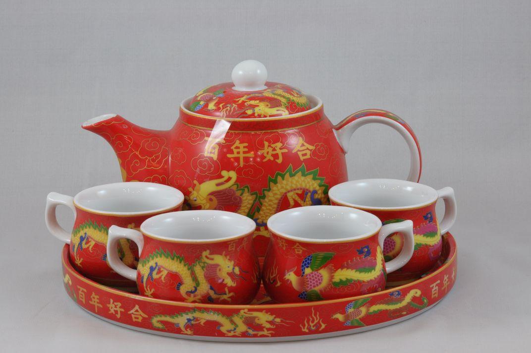 龍鳳茶具套裝 8