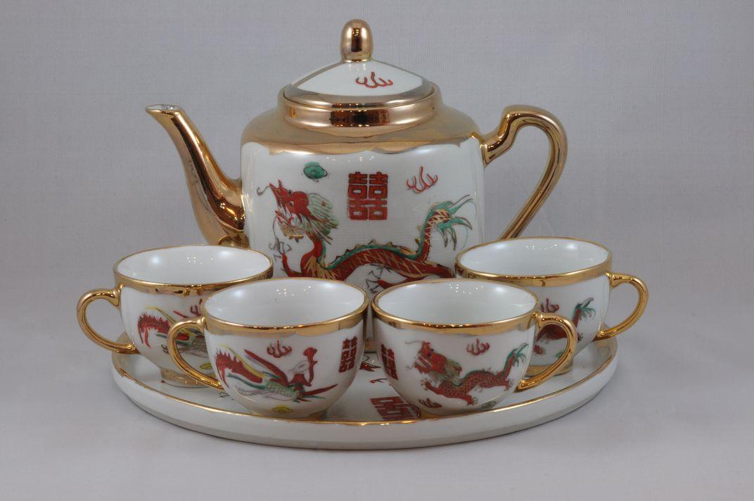 龍鳳茶具套裝 9