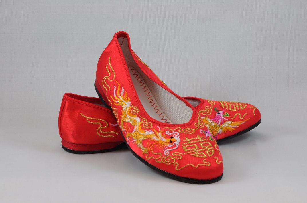 龍鳳綉花鞋 2