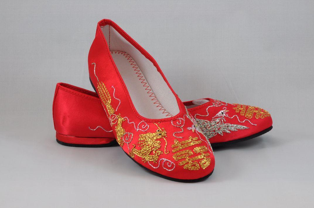 龍鳳綉花鞋 3