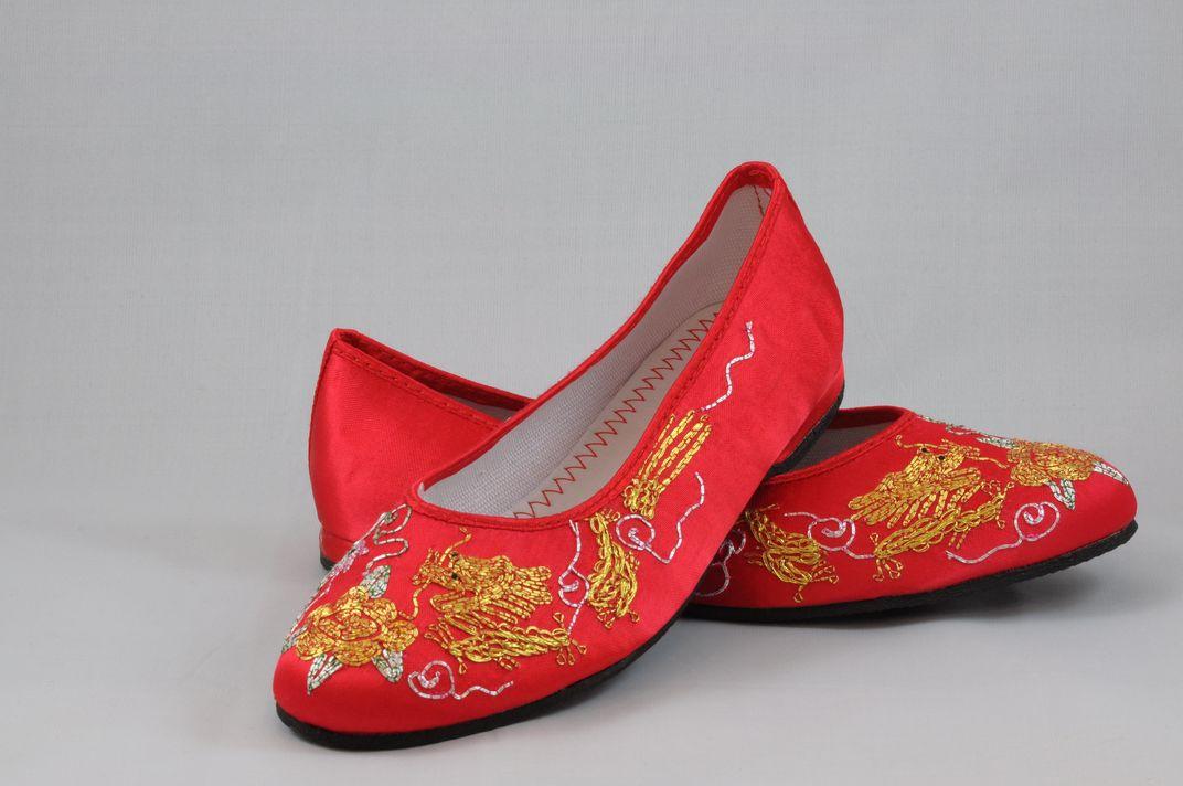 龍鳳綉花鞋 4