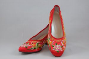 龍鳳綉花鞋 5