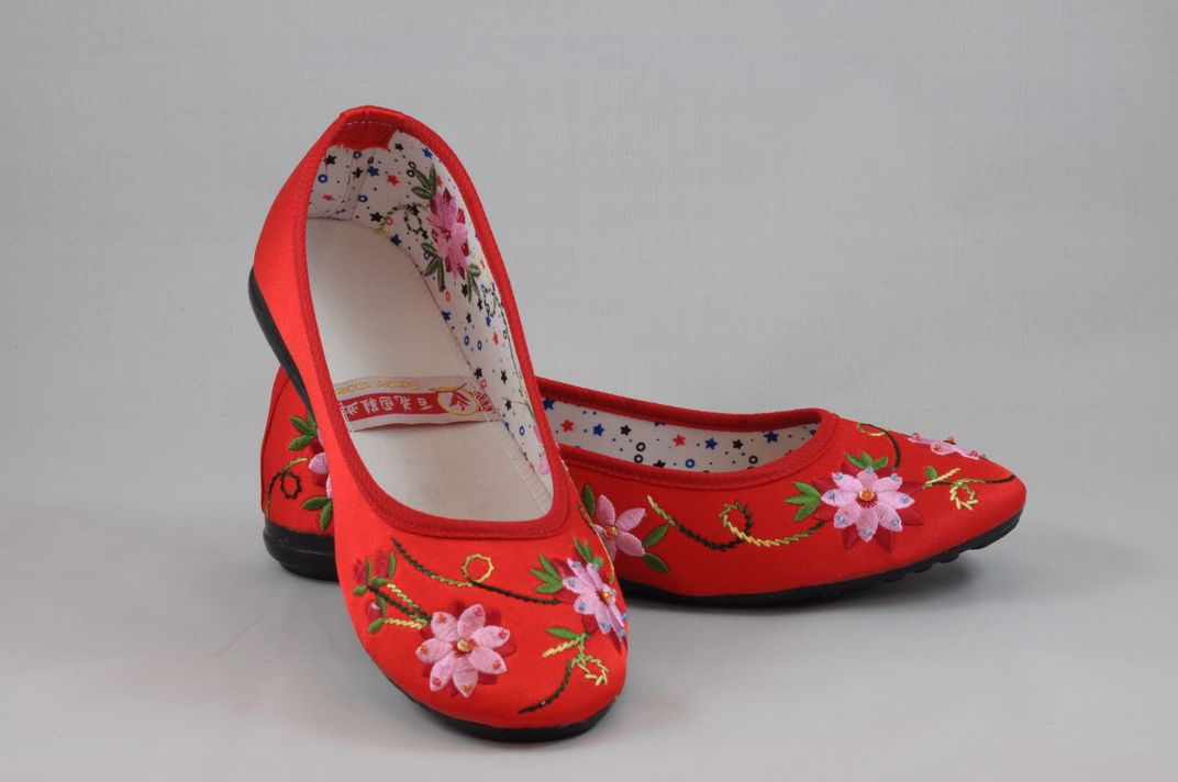 龍鳳綉花鞋 6