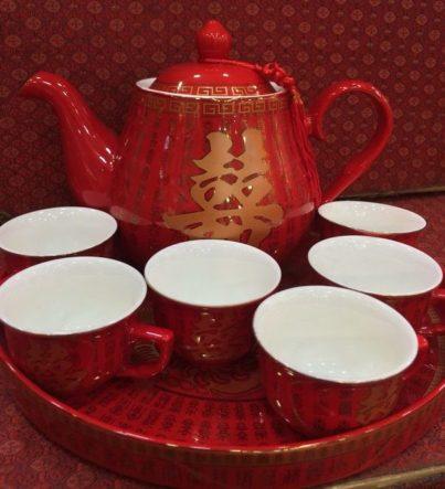 雙喜婚禮茶具套裝 1