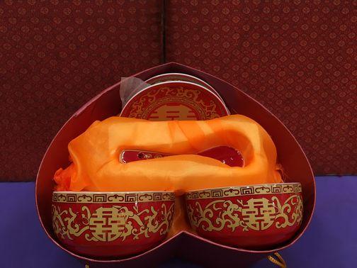 中式婚嫁碗筷套裝 1